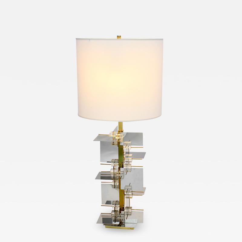 Gaetano Sciolari Rare table Lamp System series Model 139