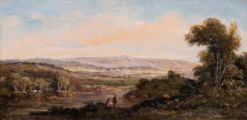 Gamaliel Waldo Beaman Hudson River School Landscape