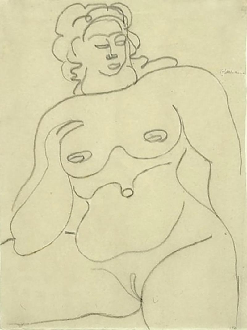 Gaston Lachaise Female Nude