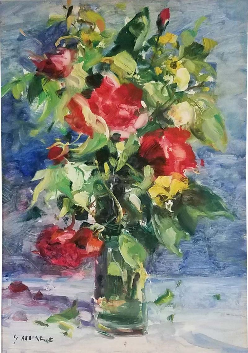 Gaston Sebire Gaston Sebire Still Life Bouquet