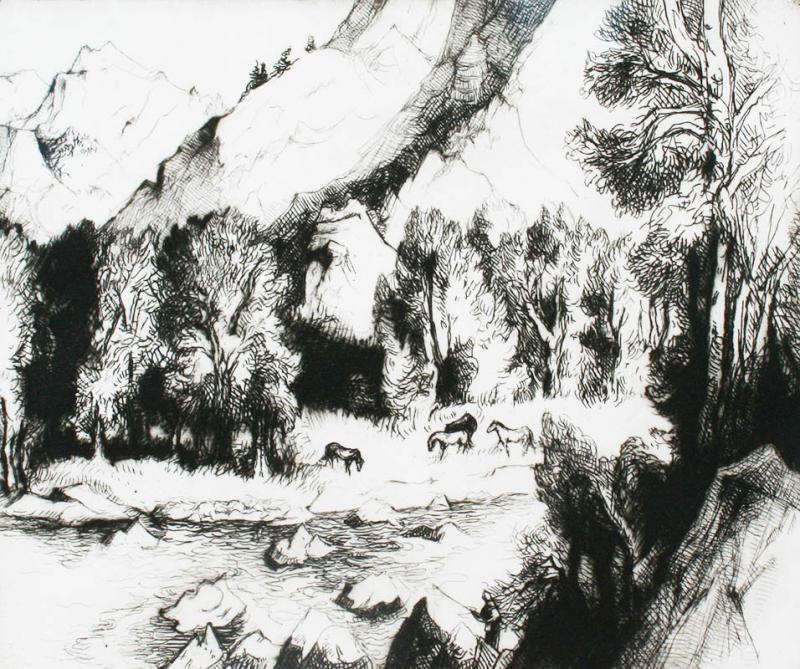 Gene Alice Geneva Glasier Kloss Along the Roaring Fork