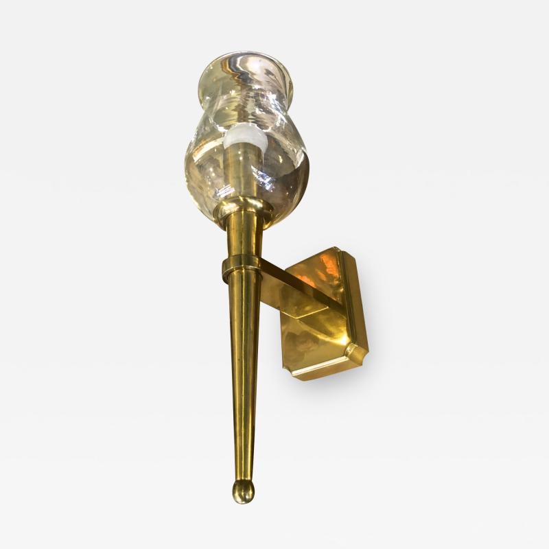 Genet et Michon Genet et Michon Extreme Quality Solid Gold Bronze Sconce