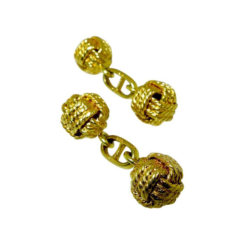 Gentlemans Gold Cufflinks