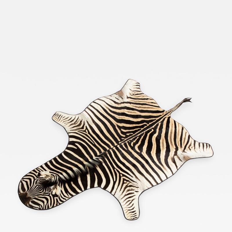 Genuine Zebra Rug