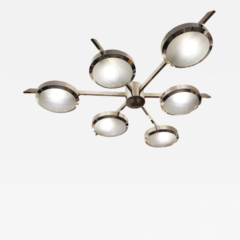 Geometria Sospesa Sei Ceiling Light Versione Due