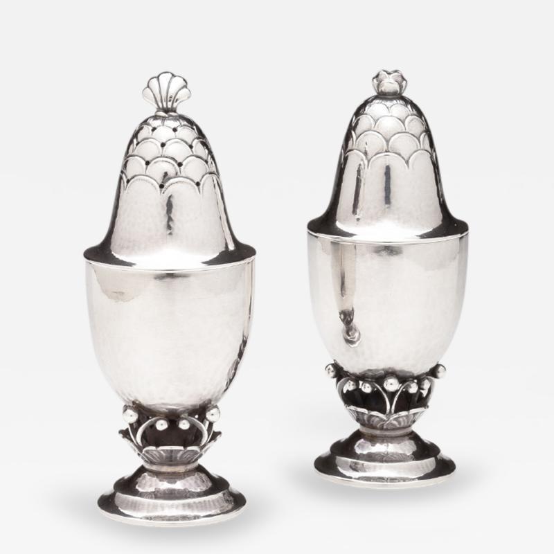 Georg Jensen Georg Jensen Salt Pepper Shakers No 235B