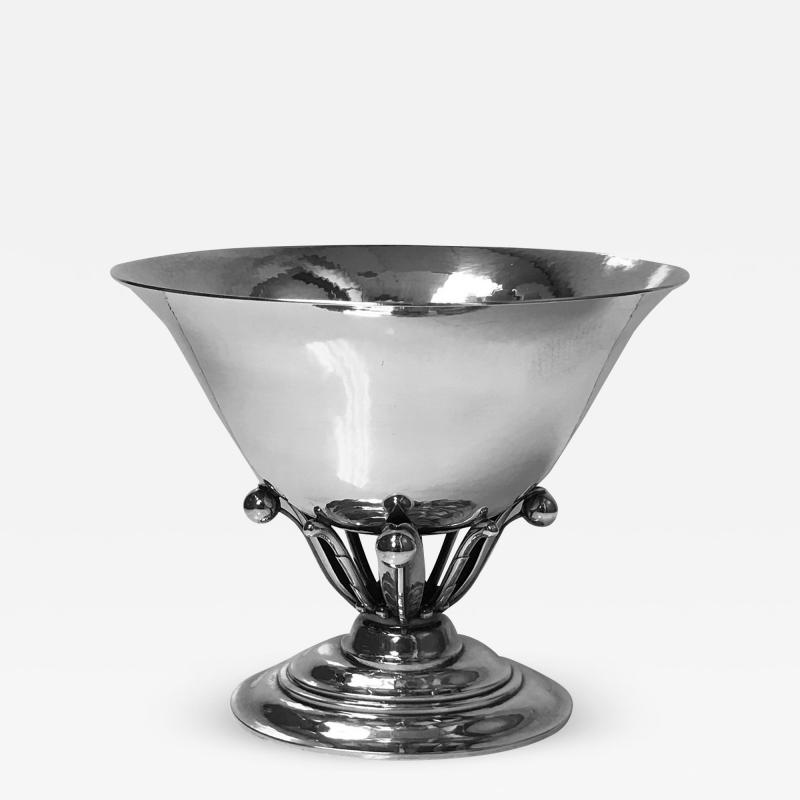 Georg Jensen Georg Jensen Sterling Bowl No 6 designed by Johan Rohde