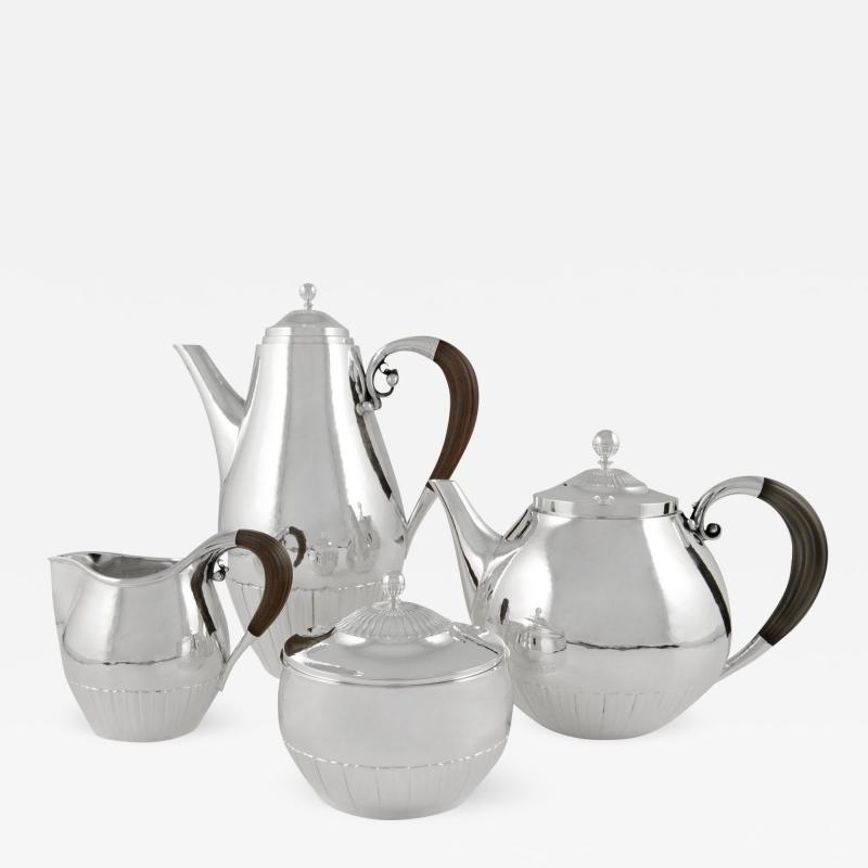Georg Jensen Vintage Georg Jensen Cosmos Tea Coffee Set 45