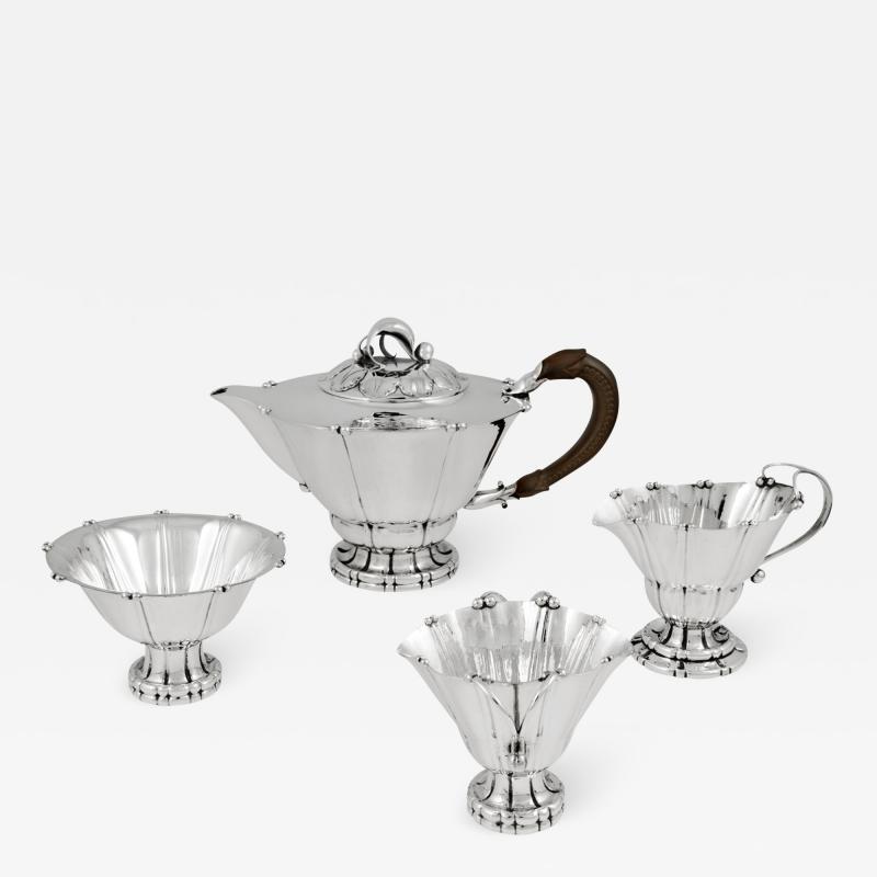 Georg Jensen Vintage Georg Jensen Tea Set 4