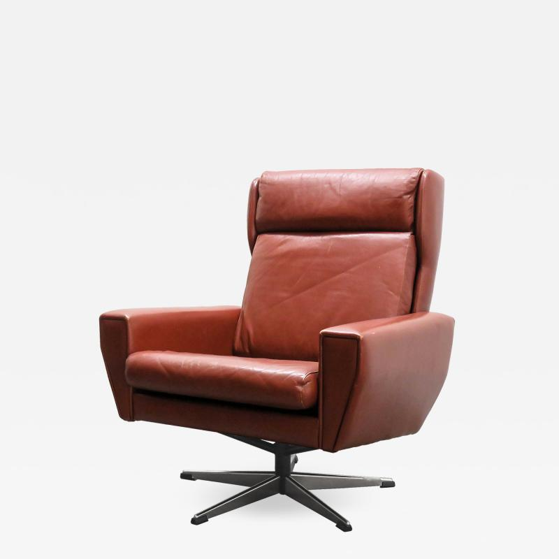 Georg Thams Georg Thams Leather Lounge Chair