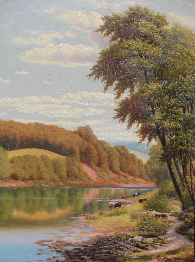 George Cope Offered by H L CHALFANT AMERICAN FINE ART ANTIQUES