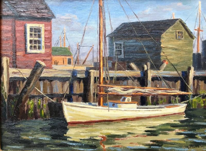 George Hallock Sailboat Greenport Dock