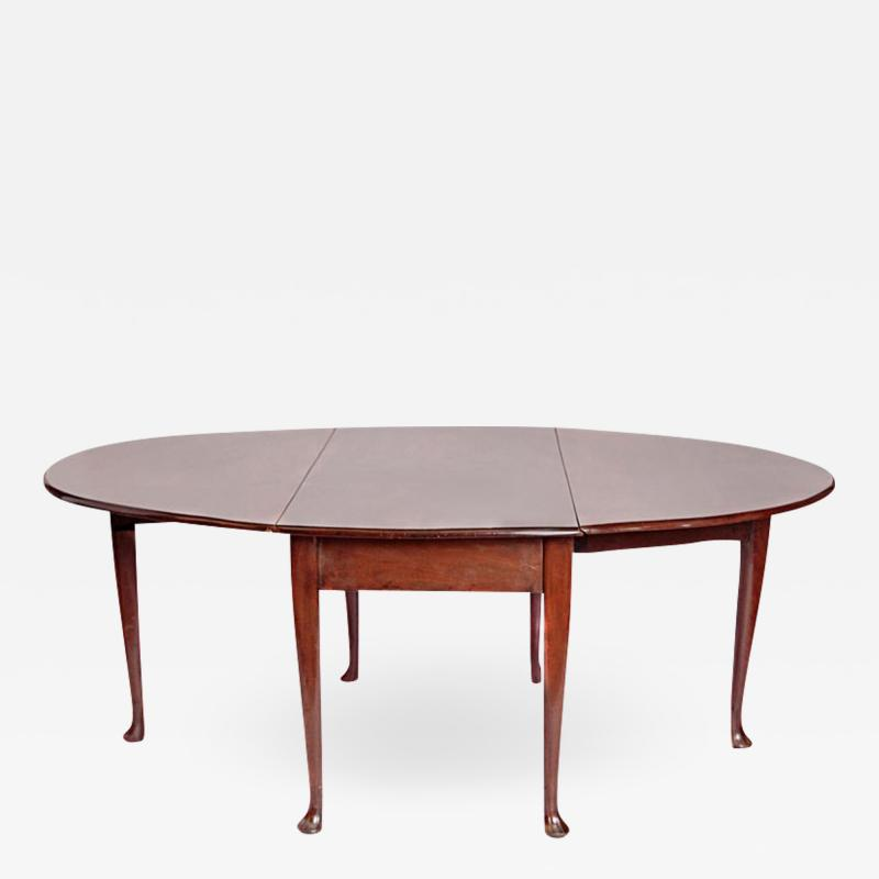 George II Mahogany Dining Table with Spanish Feet