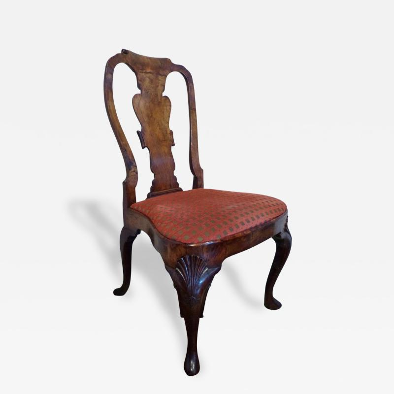 George II Walnut Chair