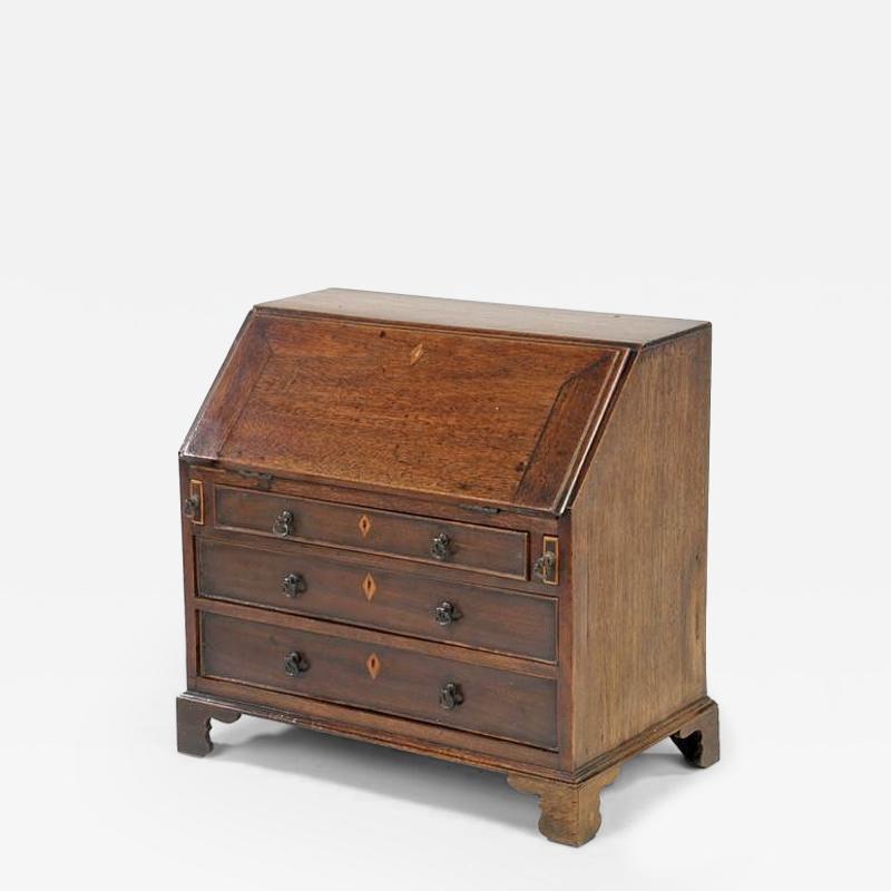 George III Miniature Slant top Desk
