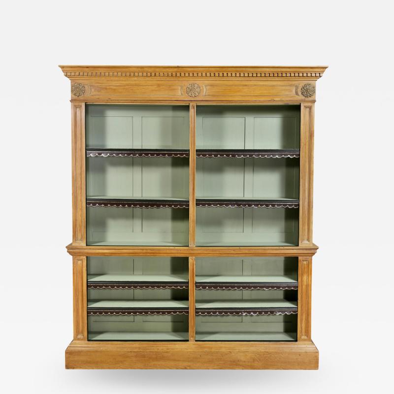 George III Pine Bookcase