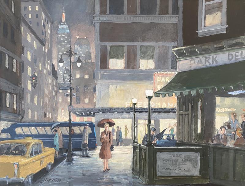George K Ralph Evening New York