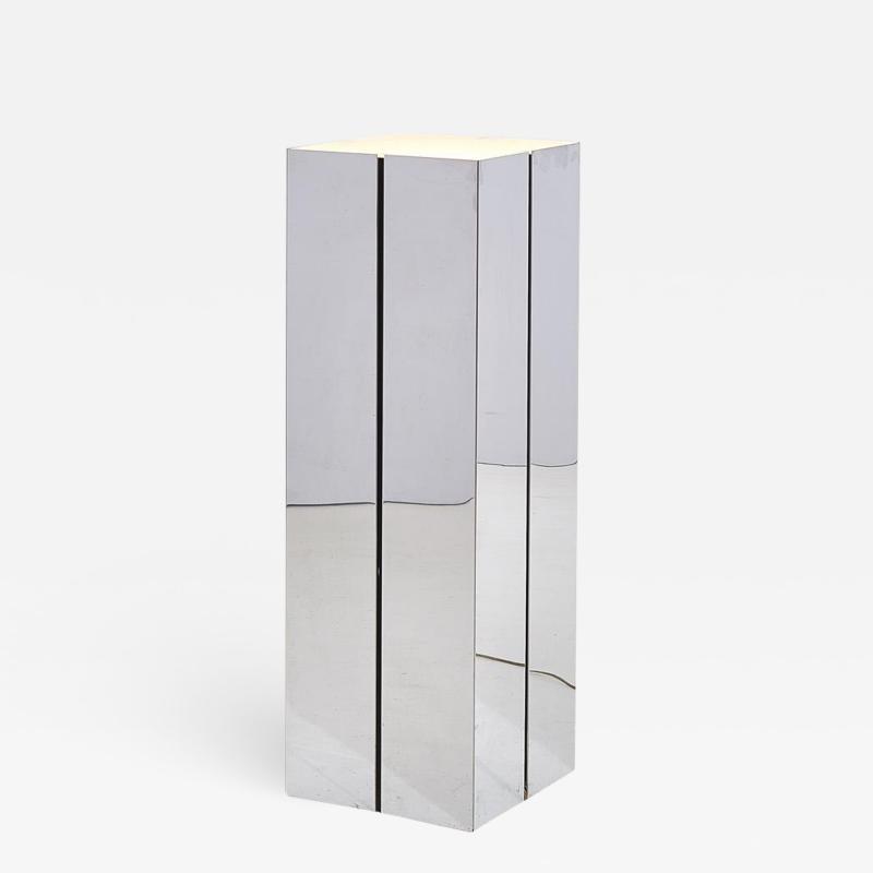 George Kovacs George Kovacs Pedestal Chrome Floor Lamp 1970