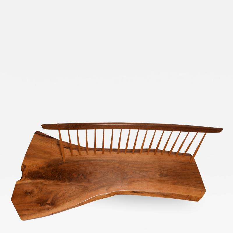 George Nakashima George Nakashima Conoid Bench