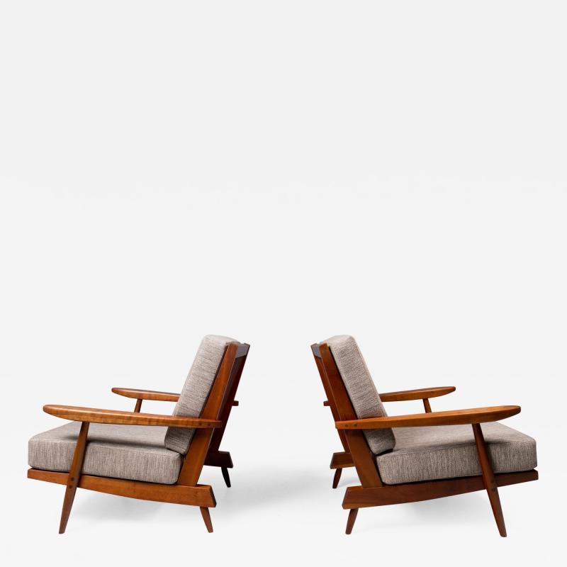 George Nakashima George Nakashima Cushion Chairs 1972