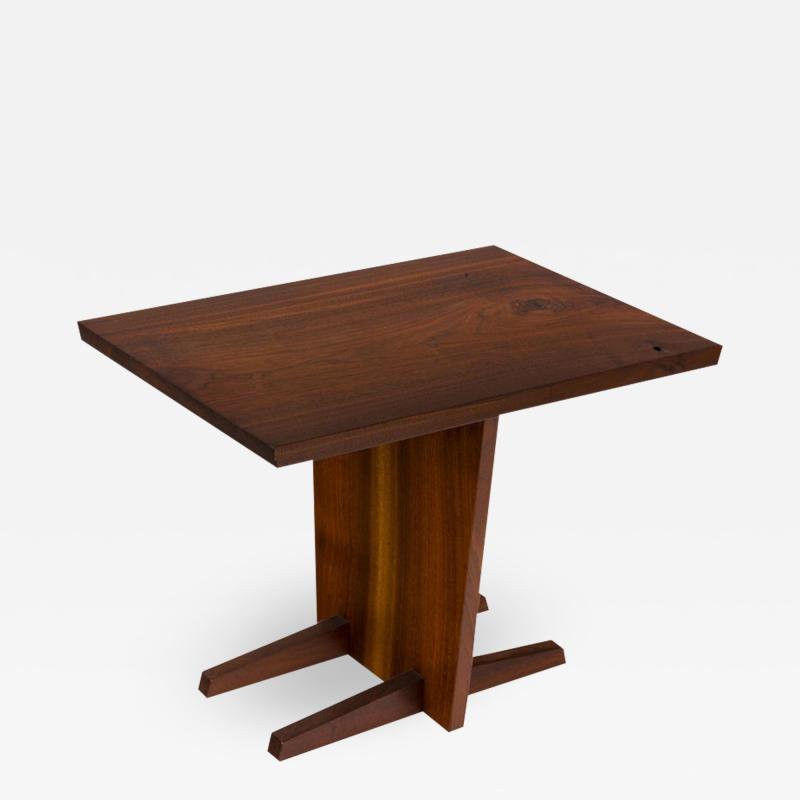 George Nakashima George Nakashima Walnut Minguren Side Table USA 1960s