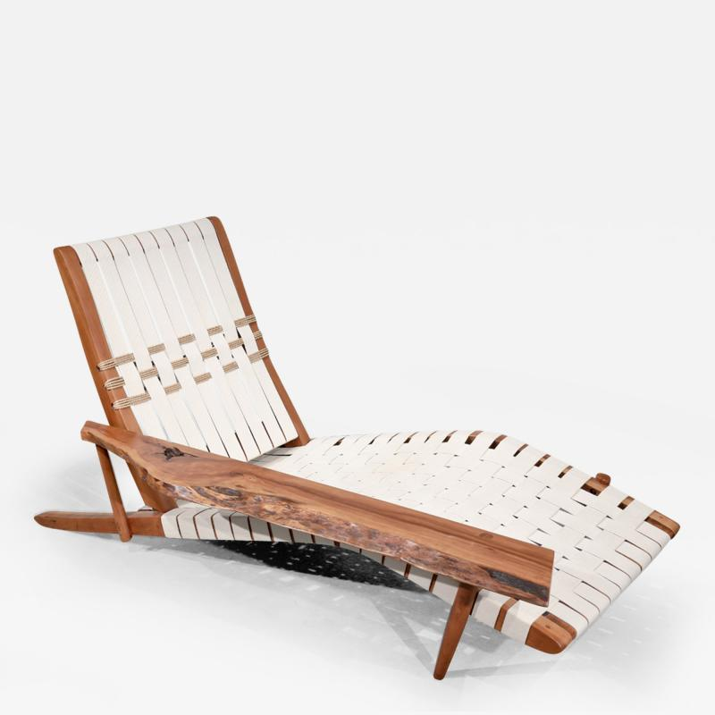 George Nakashima Long Chair