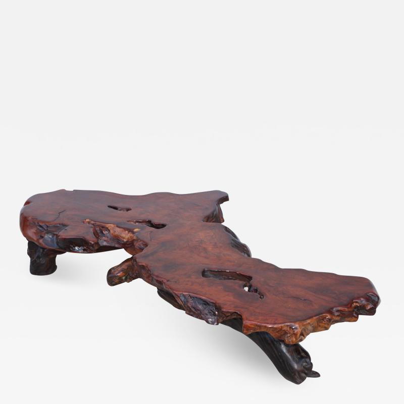 George Nakashima Massive Redwood Coffee Table