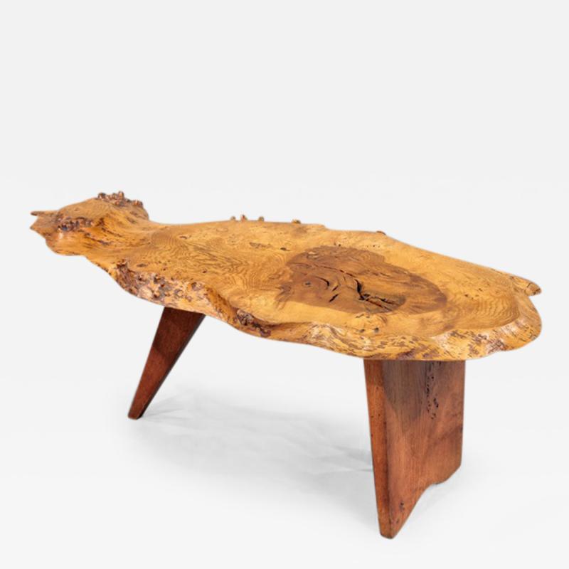 George Nakashima Slab I Coffee Table by George Nakashima