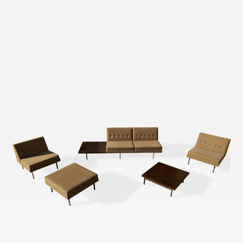 George Nelson George Nelson Modular Seating Set for Herman Miller USA 1950s