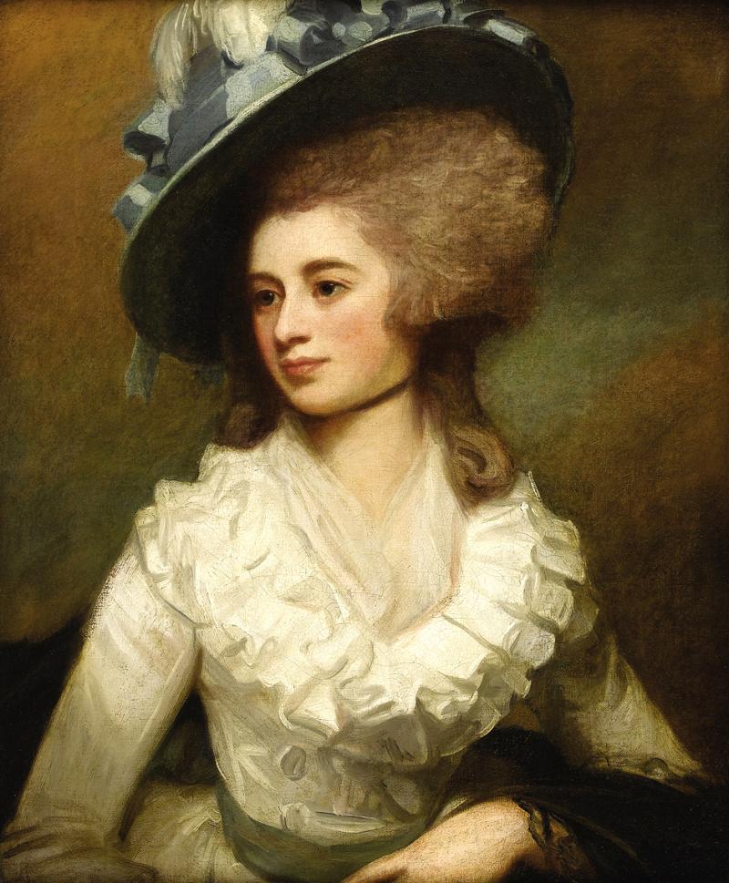 George Romney Portrait of Lady Caroline Price