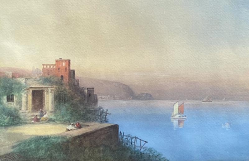 George Washington Nicholson Seaside Italian Villa