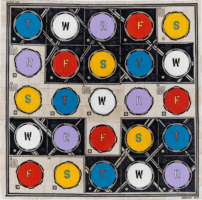 George Widener Magic Circles