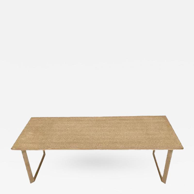 Georges Jouve Large Scaled Cocktail Table in the style of Georges Jouve