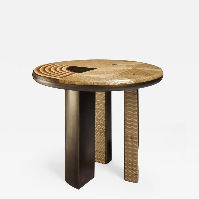 Georges Mohasseb Spiral Cycle of Life side table