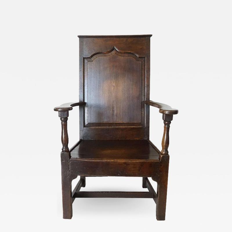 Georgian Elm Wainscot Chair