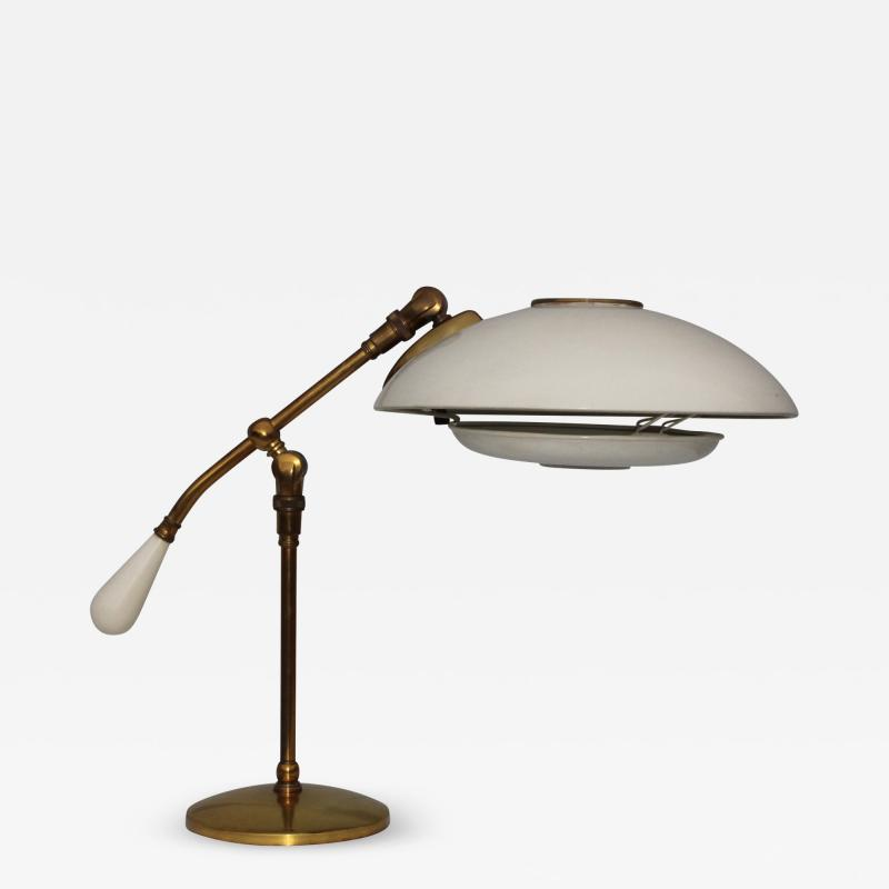 Gerald Thurston 1950s Gerald Thurston For Lightolier Brass Desk Lamp