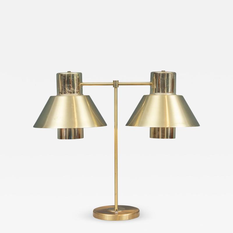 Gerald Thurston Gerald Thurston Brass Table Lamp for Lightolier