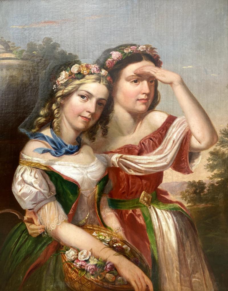 German School Bavarian Flower Girls