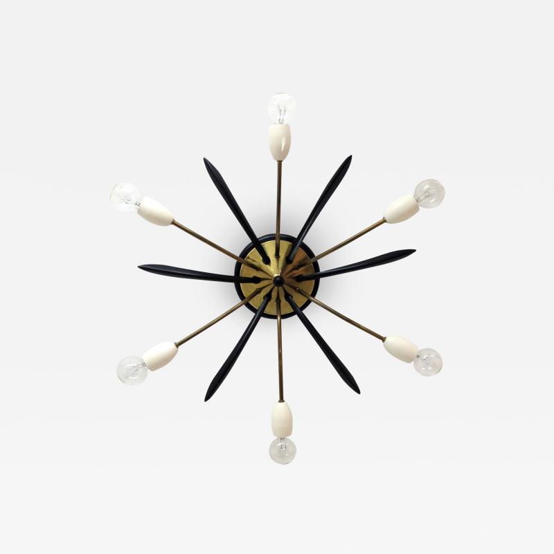 German Six Arm Sputnik Light 1960