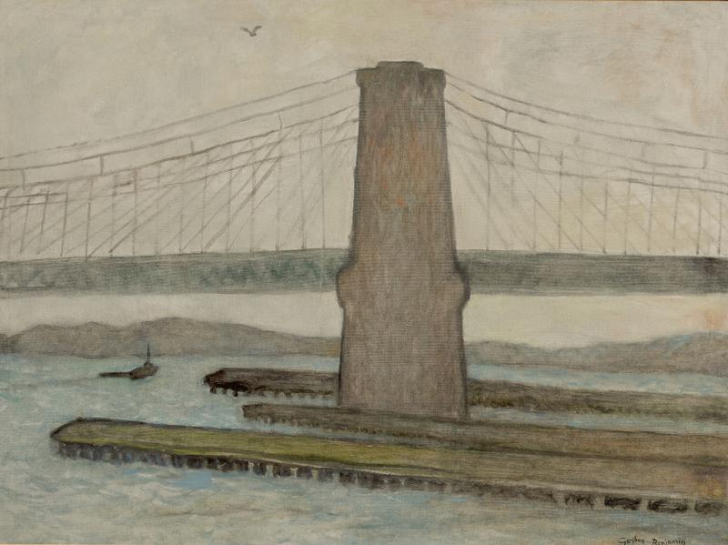 Gershon Benjamin Brooklyn Bridge II