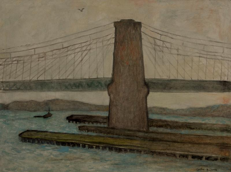 Gershon Benjamin Brooklyn Bridge II