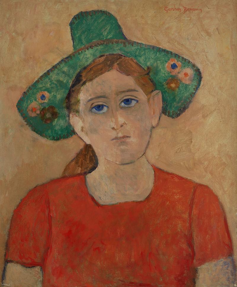 Gershon Benjamin Green Hat