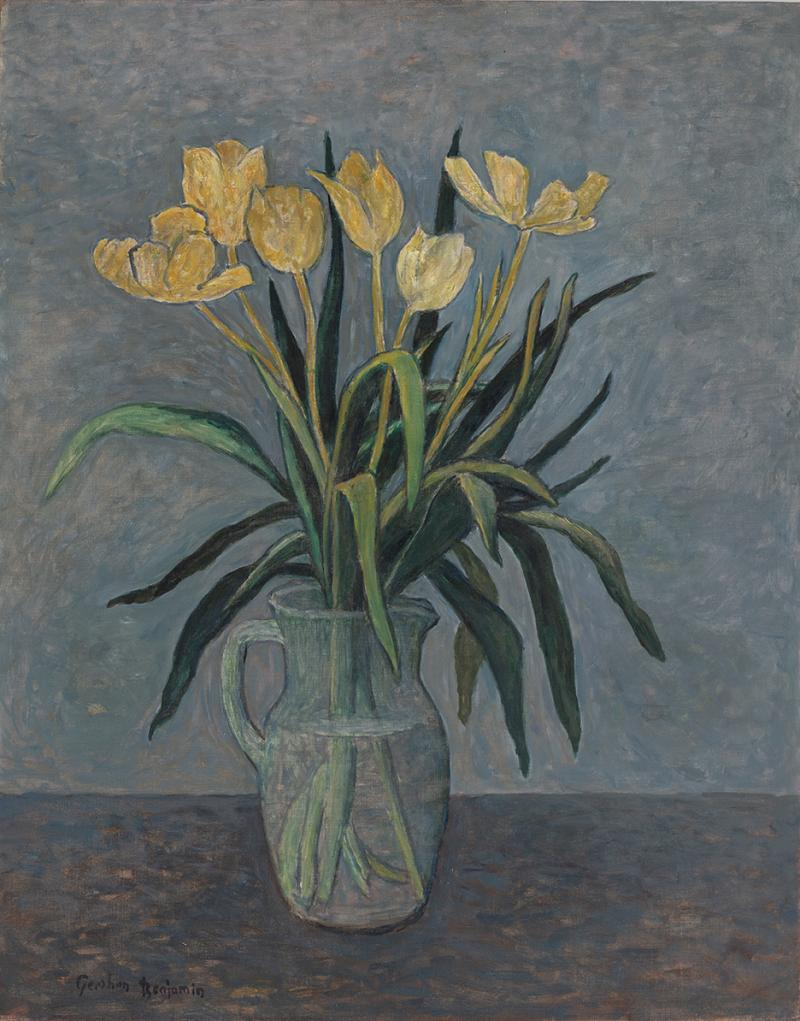 Gershon Benjamin Still Life of Tulips