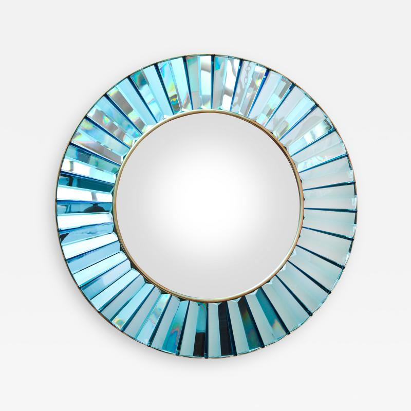 Ghiro Studio Studio Built Circular Mirror by Ghir Studio