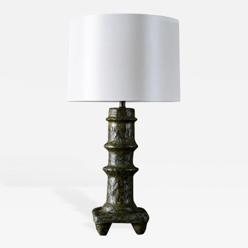 Giacometti Style Bronze Table Lamp