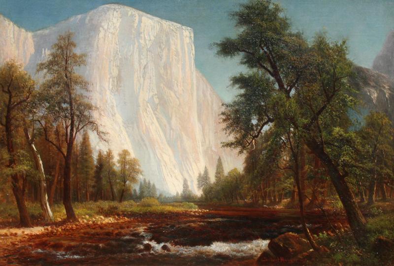 Gilbert Davis Munger El Capitan Yosemite