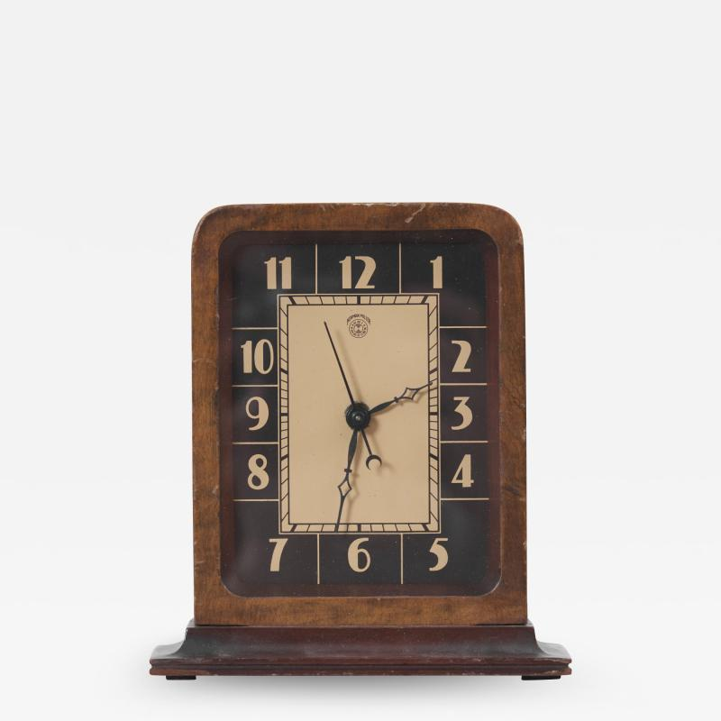 Gilbert Rohde Electric Art Deco Table Clock by Gilbert Rohde for Herman Miller