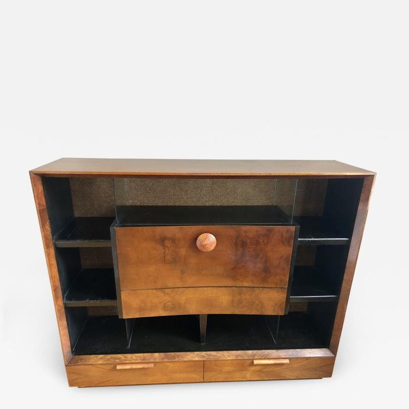 Gilbert Rohde Gilbert Rohde Paldao Secretary Display Case for Herman Miller