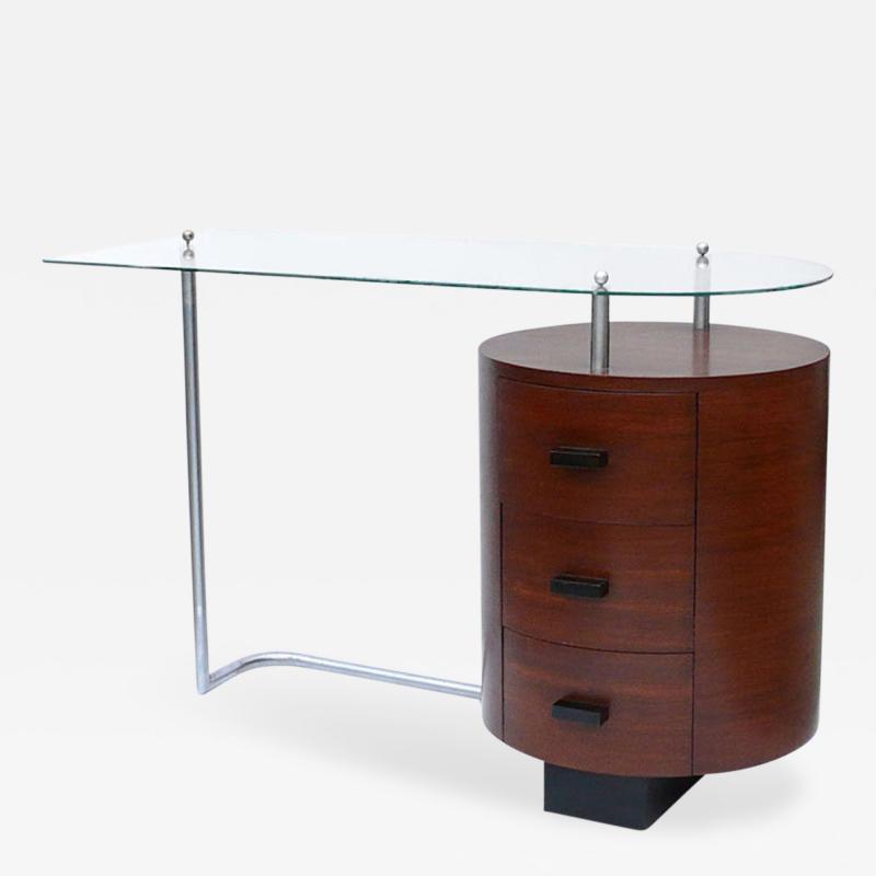 Gilbert Rohde Rare1934 Art Deco Floating Desk by Gilbert Rohde for Herman Miller