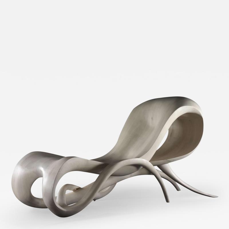 Gildas Berthelot La Nonchalante Daybed Sculpted by Gildas Berthelot